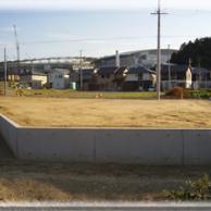 宅地造成工事に伴うL型土止擁壁