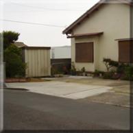 駐車場拡張による土間コンクリート