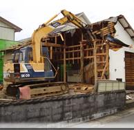 森町 木造住宅解体